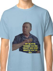 Dr. Kelso Scrubs Muffin Classic T-Shirt