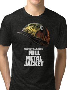 Stanley Kubrick's Full Metal Jacket | Black Tri-blend T-Shirt