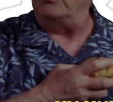 Dr. Kelso Scrubs Muffin Sticker