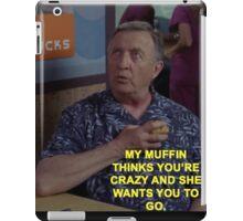 Dr. Kelso Scrubs Muffin iPad Case/Skin