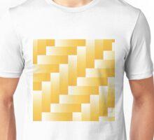 yellow parquet background Unisex T-Shirt