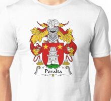 Peralta Coat of Arms/Family Crest Unisex T-Shirt