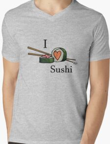 I <3 Sushi Mens V-Neck T-Shirt