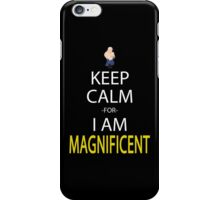 Keep Calm For I Am Magnificent Anime Manga Shirt iPhone Case/Skin