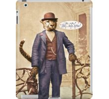 "One Cool Cat: ""Well . . . Hello, kitties!"" iPad Case/Skin"