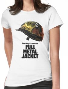 Stanley Kubrick's Full Metal Jacket Womens Fitted T-Shirt