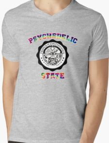 Psychedelic State Mens V-Neck T-Shirt