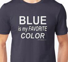 Blue is my Favorite Color Unisex T-Shirt