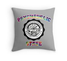 Psychedelic State Throw Pillow