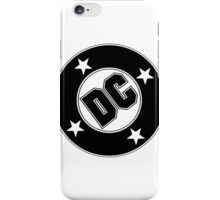 DC comics logo. iPhone Case/Skin