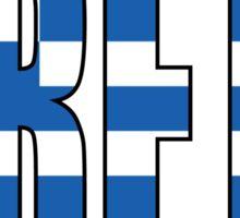 Crete. Sticker