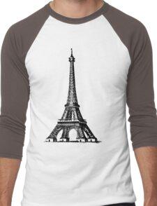 je t'aime Men's Baseball ¾ T-Shirt