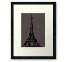 je t'aime Framed Print