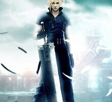 Cloud Strife by Axuriia