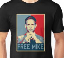 Free Mike - Suits Unisex T-Shirt