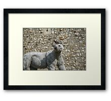 The Polar Bear and his Pigeon Framed Print