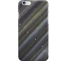 Diagonal Wood Slats iPhone Case/Skin