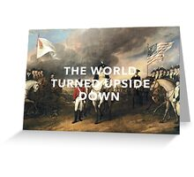 The Battle of Yorktown, 1781 Greeting Card