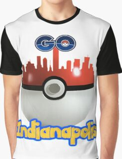 Pokemon Go Indianapolis Graphic T-Shirt