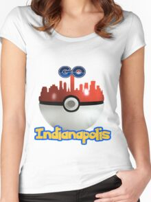 Pokemon Go Indianapolis Women's Fitted Scoop T-Shirt