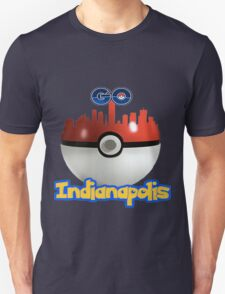 Pokemon Go Indianapolis Unisex T-Shirt