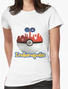Pokemon Go Indianapolis Womens Fitted T-Shirt