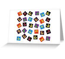 Readers Assemble vol. 3 Greeting Card