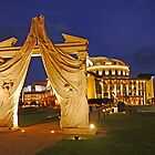 Evening at the Hungarian National Theatre by Graeme  Hyde