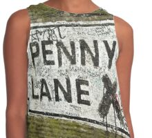 Old Penny Lane Sign Contrast Tank