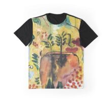 Garden vase watercolor  Graphic T-Shirt