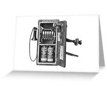 Telephone Magneto Greeting Card