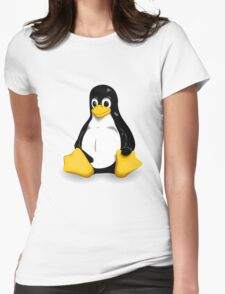 linux logo Womens Fitted T-Shirt