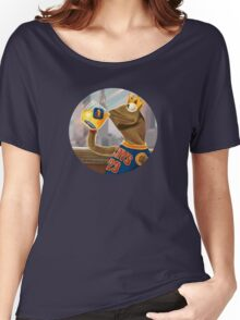 Kermit Sipping Tea - LeBron James Women's Relaxed Fit T-Shirt