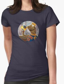 Kermit Sipping Tea - LeBron James Womens Fitted T-Shirt