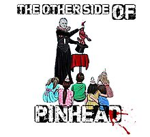 Hellraiser - La otra cara de Pinhead (The other side of Pinhead) Photographic Print