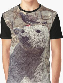 The Pigeon and the Polar Bear Graphic T-Shirt