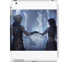 Cloud Strife and Tifa Lockhart iPad Case/Skin