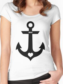 Christian Anchor Women's Fitted Scoop T-Shirt