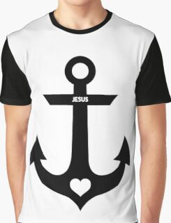 Christian Anchor Graphic T-Shirt