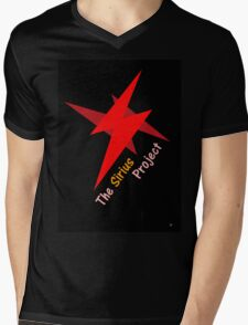 THE SIRIUS PROJECT Mens V-Neck T-Shirt