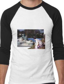 outside looking in Men's Baseball ¾ T-Shirt
