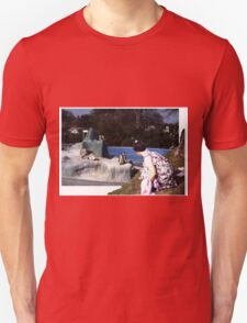 outside looking in Unisex T-Shirt
