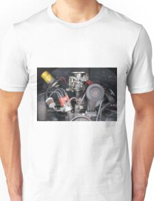 Camper Van engine exposed Unisex T-Shirt