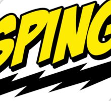 BASPINGO! - The Big Bang Theory Sticker