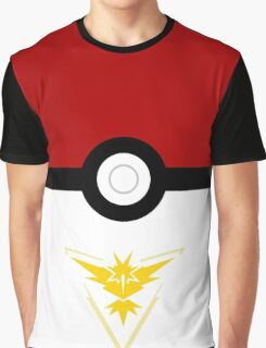 pokemon instinct team pokeball classic Graphic T-Shirt