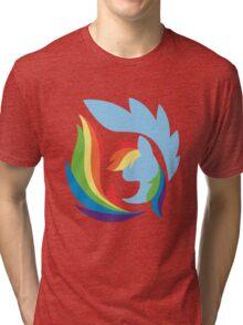 Emblem of Harmony - Rainbow Dash Tri-blend T-Shirt