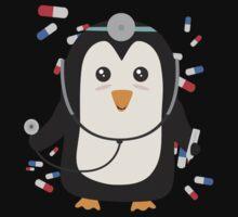 Penguin doctor   Baby Tee