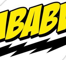 ZIMBABWE! - The Big Bang Theory Sticker