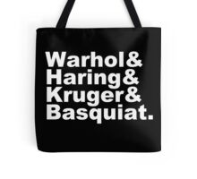 Warhol & Haring & Kruger & Basquiat - Beatles Tote Bag