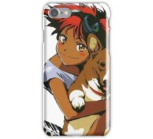 Edward and Ein Cowboy Bebop iPhone Case/Skin